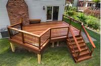 designing a deck Cumaru Deck Installation in Swarthmore, PA   Stump's Decks ...