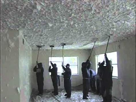 Popcorn Ceilings Asbestos Years by Friable Ceiling Abatement Using Foamshield S Patented