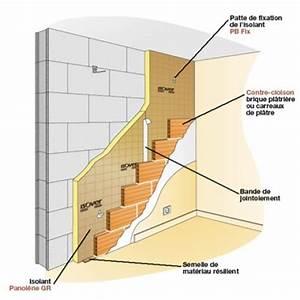 Comment Isoler Un Mur En Pierre Humide : contre cloison ma onn e devant l 39 isolant ~ Premium-room.com Idées de Décoration