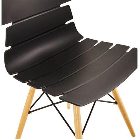chaise originale chaise originale style scandinave cony noir
