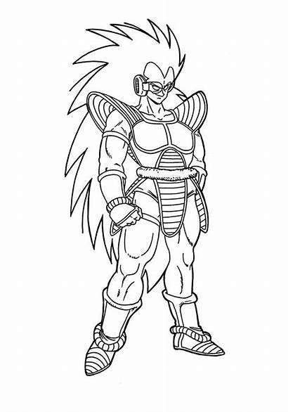 Dragon Ball Coloring Pages Characters Fancy Printable