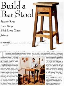 82+ [ Wooden Bar Stool Plans ] - Wooden Bar Stool With