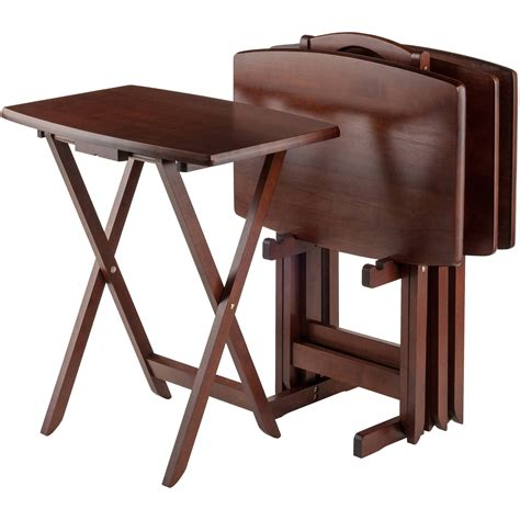Sofa Tray Table Walmart by Tv Tray Tables Walmart
