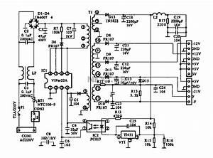 Switching Power Supply Schematic   U0026gt  Power Supplies
