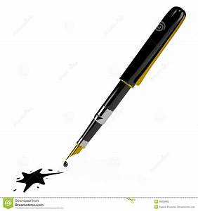 Enlever Tache De Stylo : stylo d 39 encre et la tache 3d photographie stock image 35004562 ~ Melissatoandfro.com Idées de Décoration