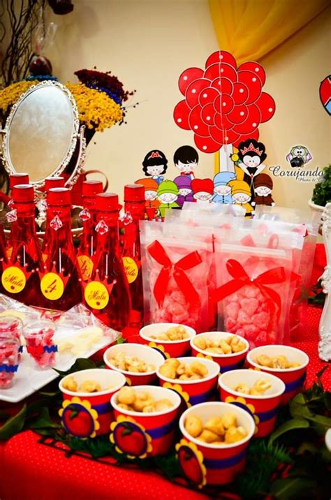 karas party ideas snow white party planning ideas