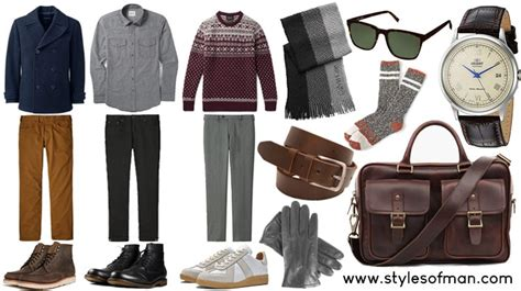 Men Winter Fashion Essentials Style Guide Styles