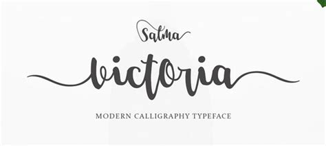 popular modern calligraphy fonts   design