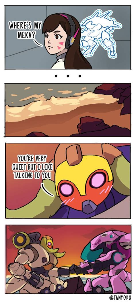 Overwatch Orisa Comic By Tanyopo On Tumblr Ov̂erwa̬tch