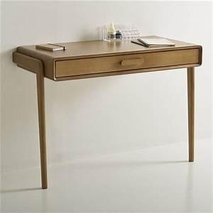 Table Bois La Redoute : bureau console vintage colas la redoute interieurs bois fonc ch ne bureau desk ~ Melissatoandfro.com Idées de Décoration