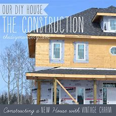 Constructing A New House With Vintage Charm  Our Diy
