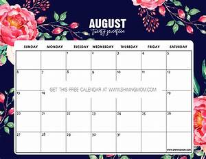 Calender August Free Printable August 2017 Calendars 12 Awesome Designs