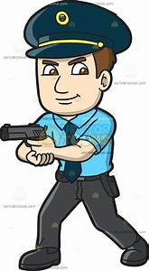 How To Draw A Police Officer Policeman Cartoon Easy To