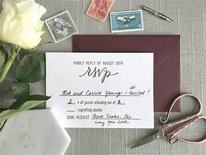 blog elisaanne calligraphy With wedding invitation rsvp phone number
