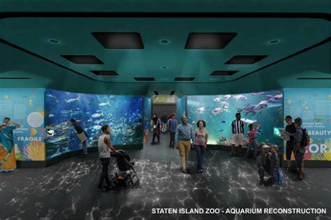 staten island zoo aquariums  renovation  add huge