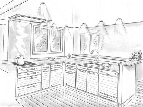 dessiner une cuisine en perspective 1000 images about dessiner une cuisine en perspective on