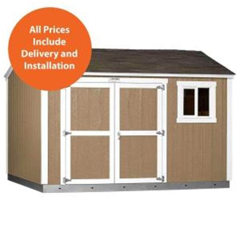 tuff shed home depot display tuff shed installed tahoe 10 ft x 12 ft x 8 ft 10 in