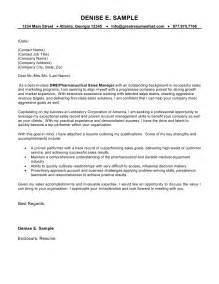 sle of cover letter for sle cover letter for sales representative with no