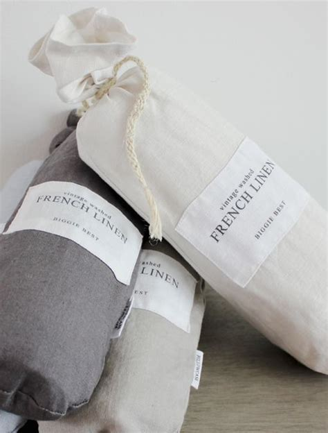 Best Linen Bedcovers by Set Of Two Linen Charcoal Pillowcases