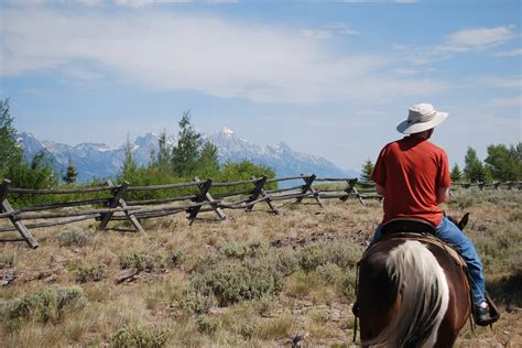 yellowstone horseback riding park national wyoming teton grand usa