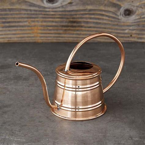 mini copper watering  williams sonoma