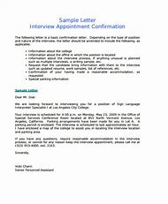 Best 25 ideas about confirmation letter sample find what youll interview appointment confirmation letter sample thecheapjerseys Images