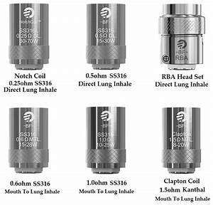 Joyetech Bf Series Replacement Coil For Cubis Ego Aio