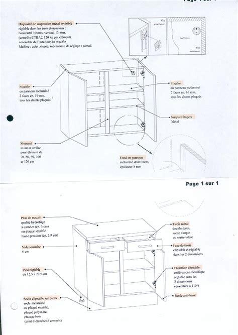 comment fixer un meuble de cuisine au mur free images jointes with comment fixer un meuble haut de