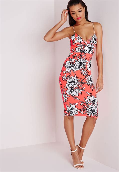 next coral floral dress