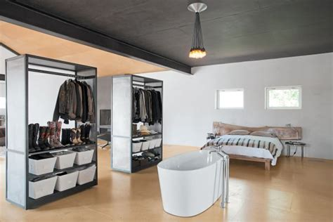 open space bedroom design open space closets for those who are organized and want to show it
