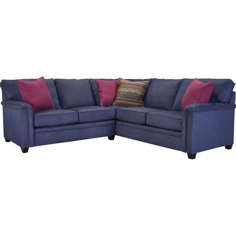 broyhill sectional sofa broyhill furniture warren raf corner sofa sectional with