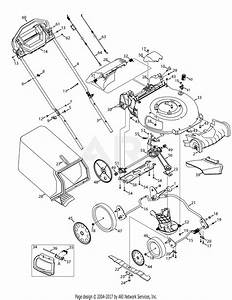 Troy Bilt Tb360 12abd3by711  2014   12abd3by711  2014  Parts Diagram For General Assembly Tb360