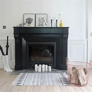les 25 meilleures idees concernant cheminee noire sur With charming peindre un escalier en blanc 3 les 25 meilleures idees concernant escaliers peints sur