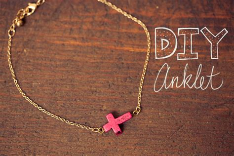 diy projects   anklets pretty designs