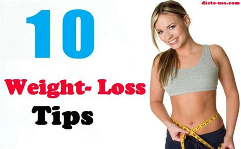 10 weight loss tips diets usa magazine