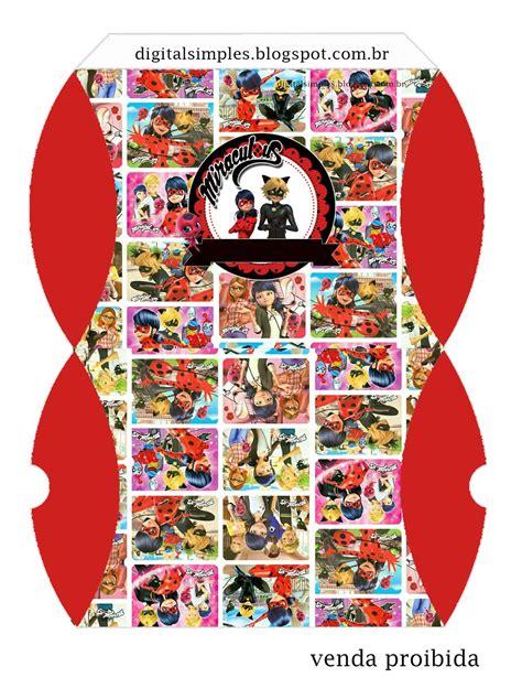 miraculous ladybugfree printable boxes   fiesta