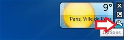 telecharger meteo sur le bureau comment installer la météo sur bureau windows 7
