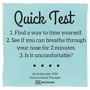 Mouth Breathing Quick Test  1   1