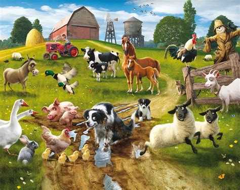 Farmyard Animal Wallpaper - farm animals wallpapers wallpaper cave
