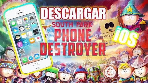 Goth kids got tired of all the posers and decided to overtake phone destroyer! Descargar South Park: Phone Destroyer   Iphone iOS   No jailbreak   No programas - YouTube