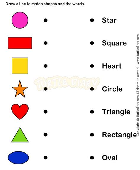 Learn Shape Worksheets  Kindergarten Math  Visual Discrimination  Pinterest  Shape, Math And