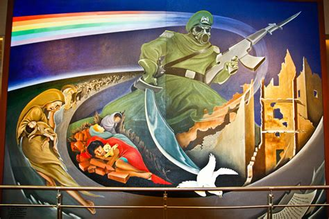 Denver Airport Conspiracy Murals by 5 Conspiracy Theories About Denver International Airport