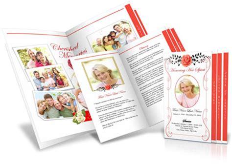 funeral handouts memorial keepsakes