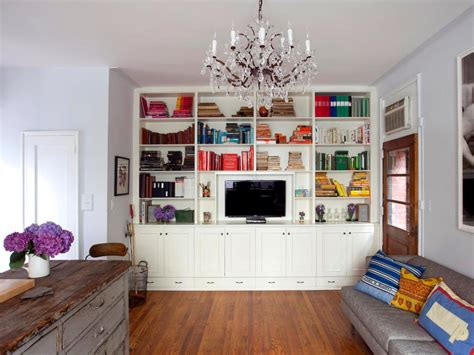 Living Room With Bookcases Ideas by 20 Mantel And Bookshelf Decorating Tips Hgtv