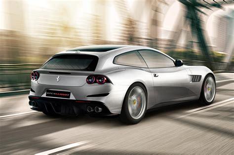 It's A V8, Mate New Ferrari Gtc4 Lusso T Unveiled Car