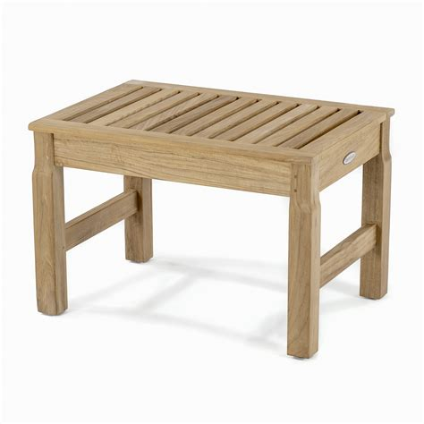 Bench Stool by Teak Shower Benches Stools Chairs Westminster Teak