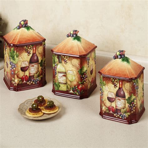 decorative kitchen canisters kitchen theme decor sets kitchen decor design ideas