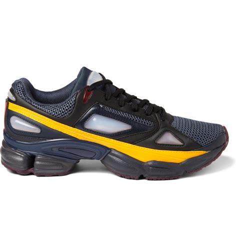 raf simons ozweego  panelled sneakers  blue  men lyst