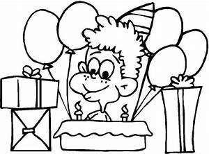 Dibujos para colorear Fiesta de cumpleaños