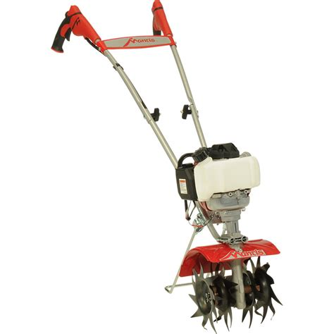 mantis 174 4 cycle plus tiller cultivator mantis garden tools